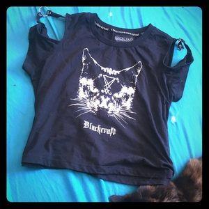 Satanikitty Blackcraft shirt